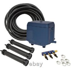 EasyPro KLC LA3 Koi Pond Aeration Kit 3000 to 22500 gallons