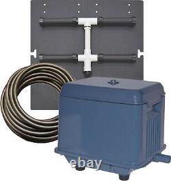 EasyPro Shallow Water Aeration kits KLC60 Linear compressor with one diffuser