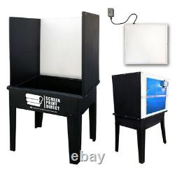 Ecotex Screen Printing Equipment Washout Booth LED Light Kit Easy Install