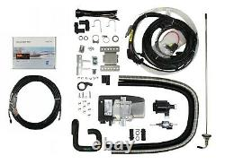 Espar S3 D5E 12V Hydronic diesel heater with install kit and easy start pro cont