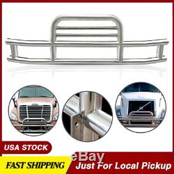 FRONT BUMPER STAINLESS STEEL FOR 08-17 Freightliner Cascadia 113/125 Deer Guard