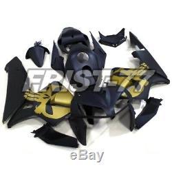 Fairing Kits for Honda CBR600RR F5 2005 2006 Matte Black Gold