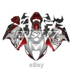Fairings for 1997 2007 Suzuki Hayabusa Body Kits GSXR1300 Cowlings Silver Red