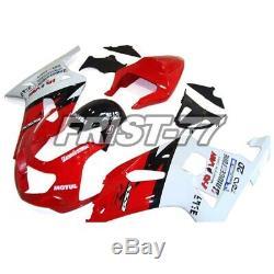Fairings for Suzuki GSXR600 2001 2002 2003 GSXR750 2000 Body Kits Red White Hull