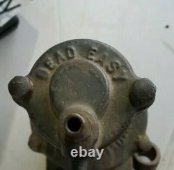 Farm Fresh! Running Board Air Pump, 1917, DEAD EASY AIR PUMP, by GLOBE MFG CO