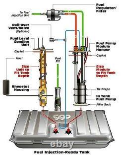 FiTech Go EFI Meanstreet Easy Street Filter Regulator Fuel Injection Install Kit