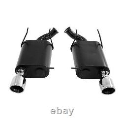 Flowmaster 817497 Force II Axle-Back Exhaust System Kit for Ford Mustang 3.7L V6