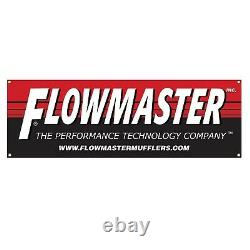 Flowmaster 817504 Outlaw Axle-back Exhaust System Kit for Chevy Camaro SS 6.2L