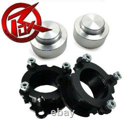 For 02-09 Chevy Trailblazer 2WD 4WD Full CNC Cut 3 Rear Spacers Lift Kit Silver