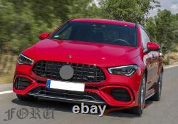 For 2020 Mercedes New CLA Class AMG GT Grill W118 C118 Front Grille CLA220 CLA35