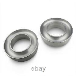 For 99-07 Chevy 1500 Silverado Billet 3 Front Spacers Leveling Lift Kit 4X2 Sil