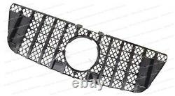 For Benz ML Class ML350 ML550 W164 2009-2011 GT Grille Removal w164 grill black