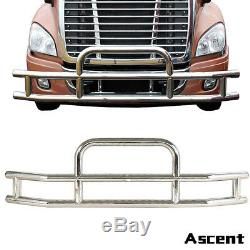 For Cascadia 2008-17 Truck Chrome Stainless Steel Front Bumper Grill Guard Car