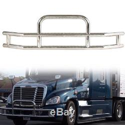 For Cascadia 2008-2017 Truck Chrome Stainless Steel Front Bumper Grill Guard Car