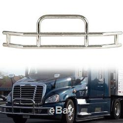 For Cascadia 2008-2017 Truck Stainless Steel Brush Bumper Protector Grille Guard