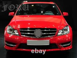 For Mercedes Benz W204 Grille C-Class C250 C300 C350 Front Facelift Grill 07-14
