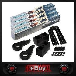 Full Steel 3 Fr + 2 Rr Lift Kit + Pro Comp Shocks 88-98 Chevy GMC K2500 K3500