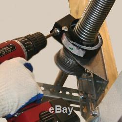 Garage Door Conversion Kit 9 ft. X 7 ft. Easy-Install Torsion Spring System