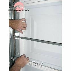 Garage Door Insulation Panel Kit (8-Pieces) Easy Install Moisture Resistant
