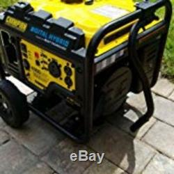 Generator Mobility Wheel Kit Folding Handle Quick Easy Installation Move Power