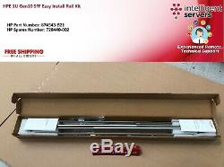 HPE 1U Gen10 SFF Easy Install Rail Kit 874543-B21