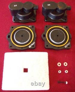 Hiblow HP 20 To HP 200 Air Pump Chamber Block Kits Joe Mescan Hi Blow 5 Sizes
