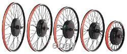 High Speed Easy to Install Rear Hub Motor Wheel without Noise Electric Bike Kit