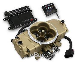 Holley Classic Gold Finish Terminator Fuel Injection Stealth Kit Easy to install