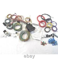 Hot Rod universal 22 Circuit Wiring Harness kit easy painless install