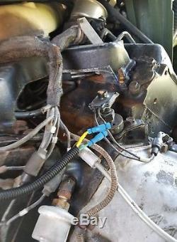 Humvee Tachometer Calibrated Easy Field Install Kit HMMWV Hummer M998 Tach BLACK