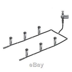 In-Ground Automatic Sprinkler System Automatic Yard Lawn Rotary Kit Easy Install