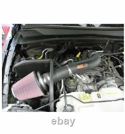 K&N 57-1540 Round Performance Air Intake Kit for 04-07 Jeep Liberty 3.7L V6
