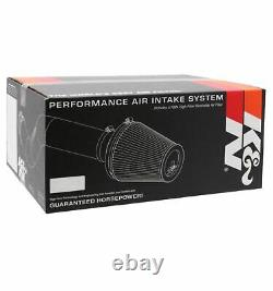 K&N 57-2578 Performance Cotton Air Intake Kit for 11-14 Ford Mustang GT 5.0L V8