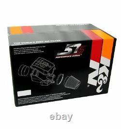 K&N 57S-9501 Performance Air Intake withFilter Kit for Golf/Jetta/Passat/Tiguan/A3
