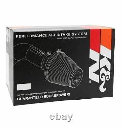K&N 63-1566 Performance 63 Series Air Intake Kit for Jeep Wrangler JK 3.6L V6