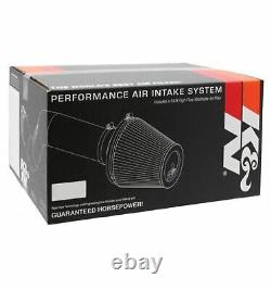 K&N 69-1008TB Round Performance Intake Kit with Cotton Filter for EL/Civic 1.7L