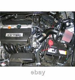 K&N 69-1211TTK Performance Air Intake Kit with Cotton Filter for Honda Accord 2.4L