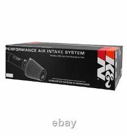 K&N 69-2544TP Round Performance Intake Kit with Filter for Challenger/Charger/300
