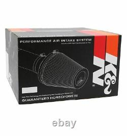 K&N 69-3533TTK Performance Intake Kit with Reusable Filter for Ford Fusion 2.5L