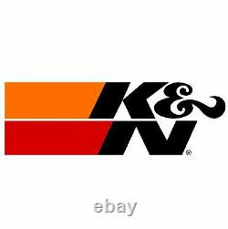 K&N 69-4519TP Air Intake Kit with Reusable Filter for 10-15 Chevrolet Camaro 6.2L