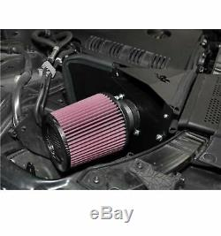 K&N 69-9505T Cold-Air 69 Series Typhoon Intake Kit with Filter for Audi A4 2.0L