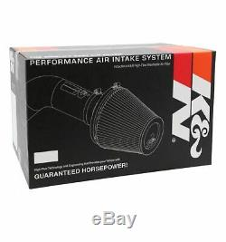 K&N 77-3070KP Performance Intake Kit for Escalade/Avalanche/Silverado/Suburban