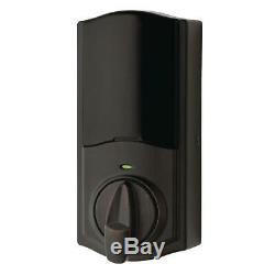 Kwikset Convert Smart Lock Venetian Bronze Conversion Kit Featuring Bluetooth