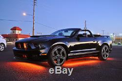 LED Car Kit for Full Size Vehicles, Change Color with Remote, Easy Install