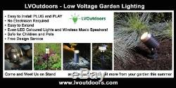 LED Garden Spike Light Kit 12v 3w Easy Install All Quantities Numbers Low Voltag