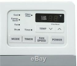 LG Window Air Conditioner 10,000 BTU Timer Remote Easy Install Kit ENERGY STAR