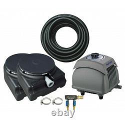 Matala EZ-Air Pro 4 Plus Pond Aeration Kit Includes Pump, Air Hose & Diffusers