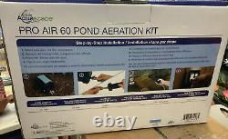 NEW Aquascape Pro Air 60 Pond Water Aeration Kit, 61008 Diffuser Fish Koi
