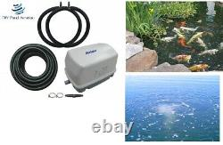 NEW Fish POND Aerator System / Septic Aeration Kit 2- Diffuser/3 YR Warrant