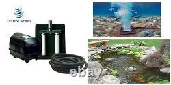 NEW Fish Pond Lake Aeration Kit Septic Kit for 2000-8000 gallon ponds & tanks